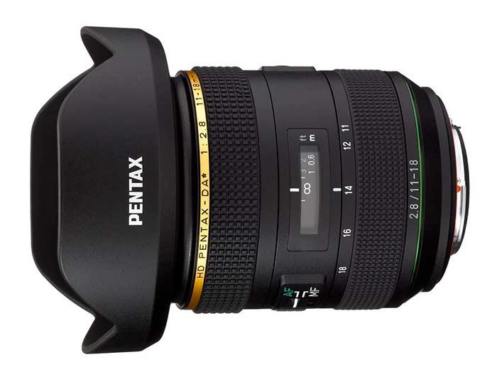 Pentax 11-18mm f2.8 DA Star