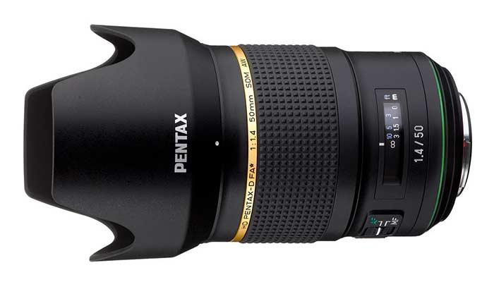Pentax 50mm f1.4 FA Star