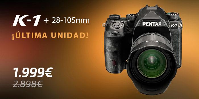 Pentax K-1 con 28-105mm