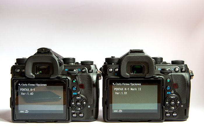 Pentax K-1 Mark II y K-1