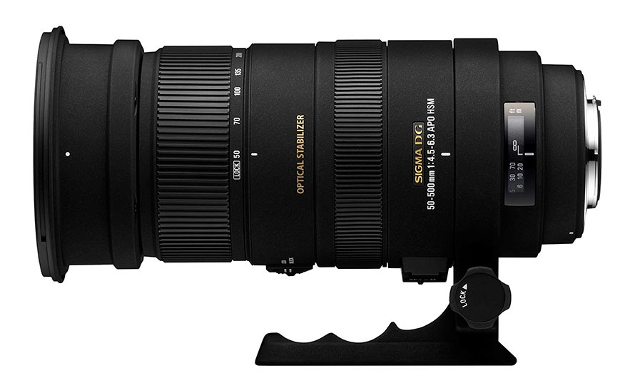 Sigma 50-500mm para Pentax