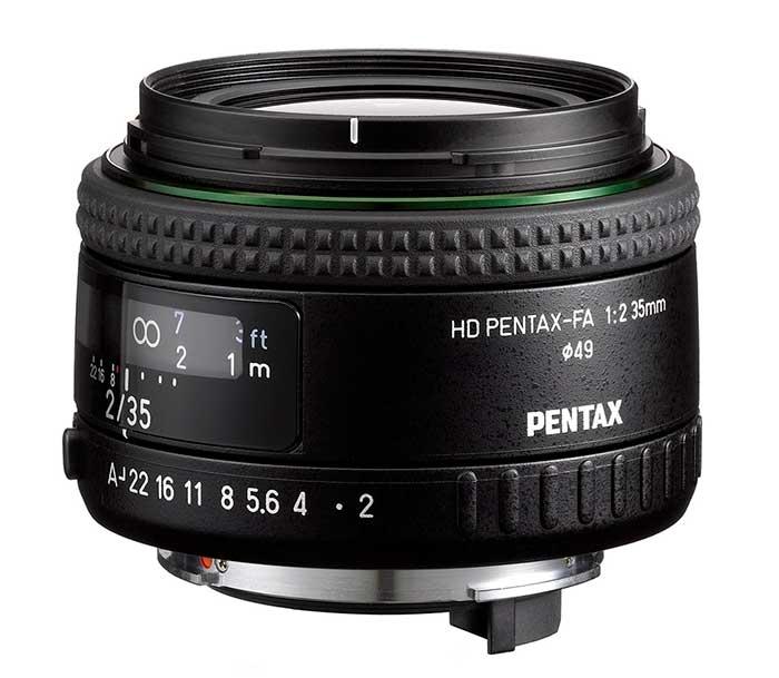 Pentax 35mm f2 FA HD
