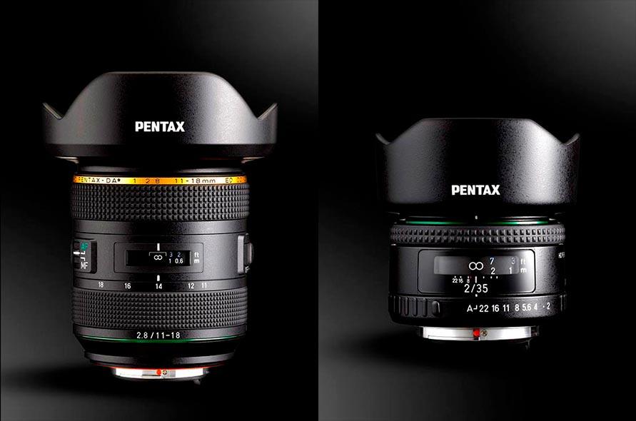 Pentax 11-18mm f2.8 Star y 35mm f2 HD
