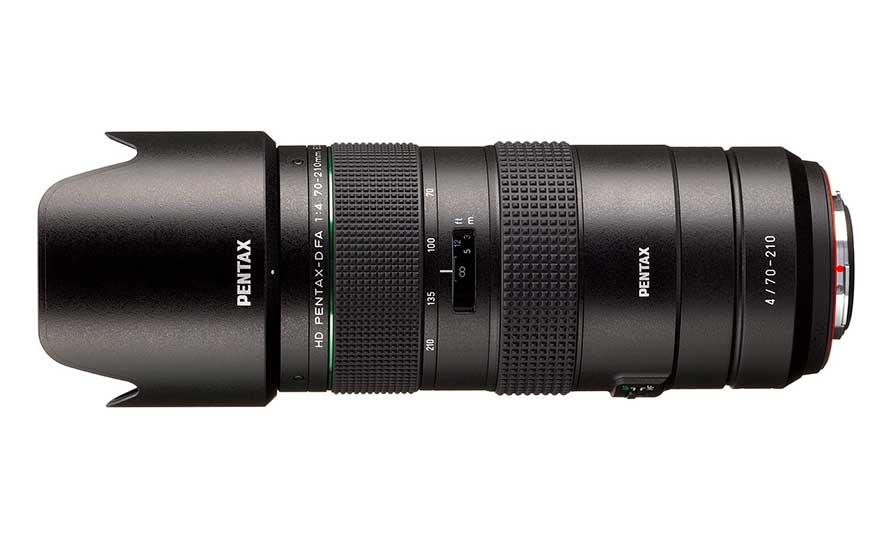 Llega por fin el prometido Pentax 70-210mm f4 para formato completo